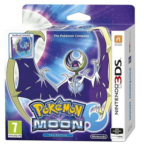 Pokemon Moon Fan Edition 3DS Game - Image 1