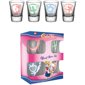 Sailor Moon Characters Shot Glasses