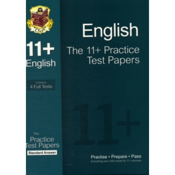 11+ English Practice Test Papers: Standard Answers (for Gl & Other Test Providers)