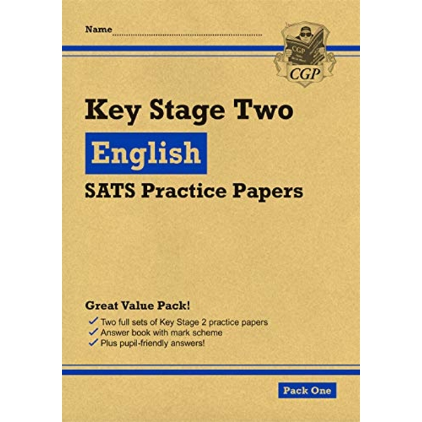 New KS2 English SATS Practice Papers: Pack 1 (for the 2021 tests)  Paperback / softback 2018