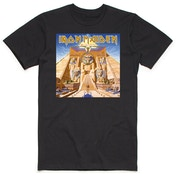Iron Maiden - Powerslave Album Cover Box Men's Medium T-Shirt - Black