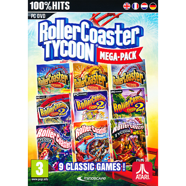 RollerCoaster Tycoon 9 Mega Pack PC Game