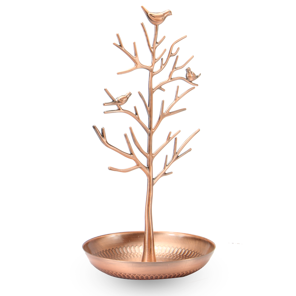 Tree Jewellery Display Stands Rose Gold | M&W