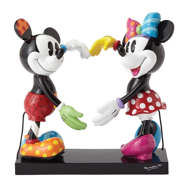 Mickey & Minnie Mouse(Disney) Disney Britto Figurine