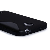 Caseflex Samsung Galaxy S4 S-Line Gel Case - Black