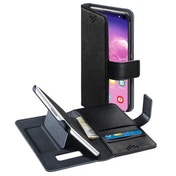 Hama Stand-Up Wallet Case for Samsung Galaxy S10, Black