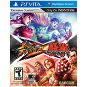Street Fighter X Tekken Game PS Vita (#)