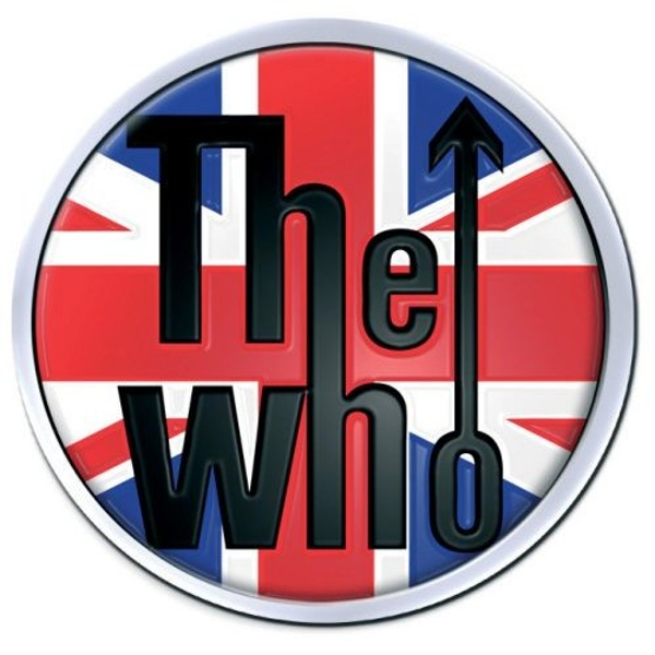 The Who - Union Jack Pin Badge