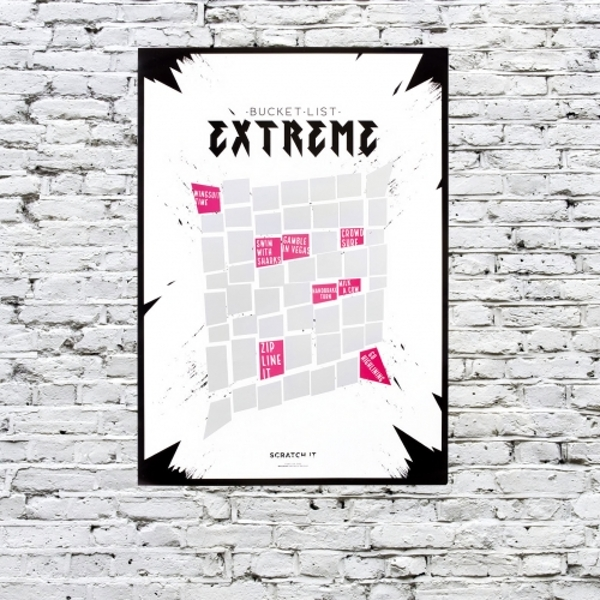 Thumbs Up! Scratch Poster - Extreme