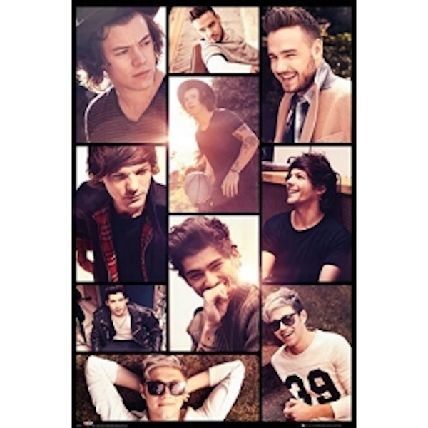 One Direction Grid Maxi Poster