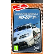 Need For Speed NFS Shift Game (Essentials) PSP