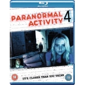 Paranormal Activity 4 Blu Ray