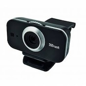 Trust Cuby Webcam Black 17318