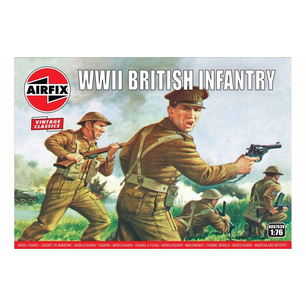 WWII British Infantry N. Europe 1:76 Air Fix Figures