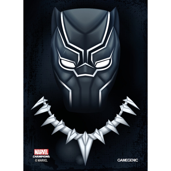 Gamegenic Marvel Champions Art Sleeves: Black Panther (50-Pack)