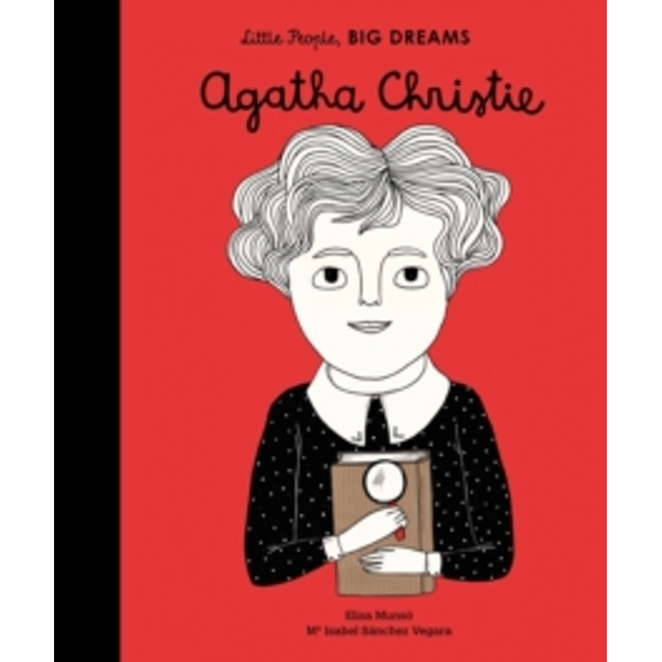 Agatha Christie (Little People, Big Dreams) Hardcover