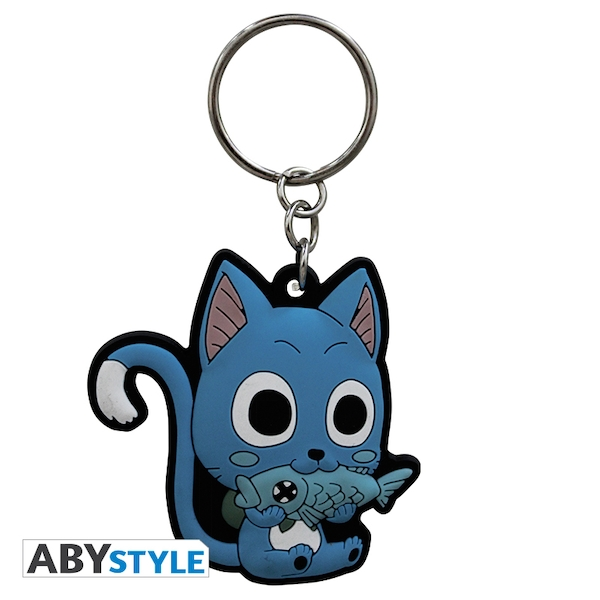 Fairy Tail - Happy PVC Keyring