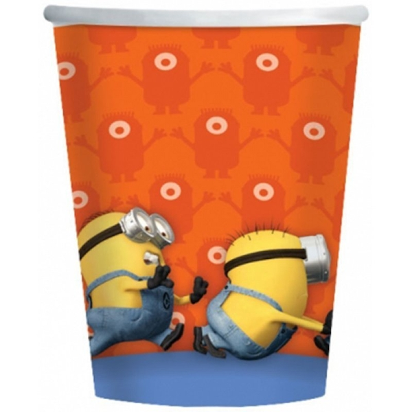 Minions Paper Cups 266 ml