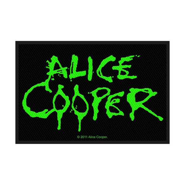 Alice Cooper - Logo Standard Patch