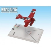 Wings of Glory Fokker Dr.I Von Richthofen Board Game