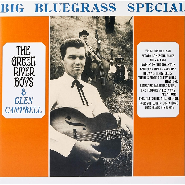 Glen Campbell And The Green River Boys - Big Bluegrass Special Vinyl