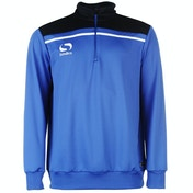 Sondico Precision Quarter Zip Sweatshirt Youth 11-12 (LB) Royal/Navy