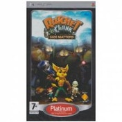 Ratchet & and Clank Size Matters Game (Platinum) PSP
