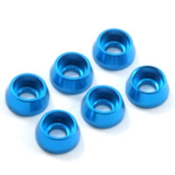 Fastrax M3 Cap Washer Blue (6)