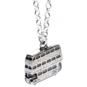 Sterling Silver Knight Bus Necklace
