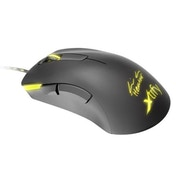 Xtrfy M3 Wired Optical Gaming Mouse, Ninjas in Pyjamas HeatoN Edition, 4000 DPI, Omron Switches, 5 Buttons, LED, Black