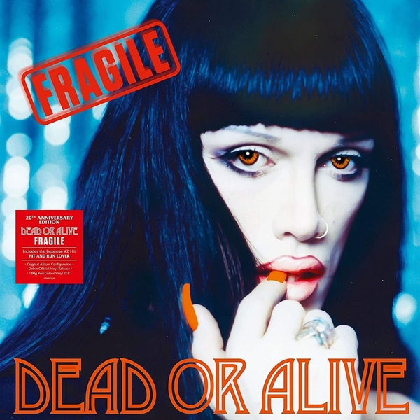 Dead Or Alive - Fragile 20th Anniversary Red Vinyl