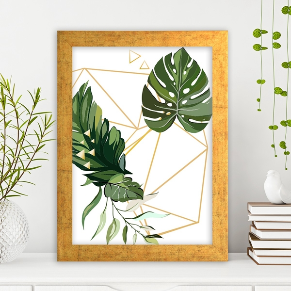 AC108535040923 Multicolor Decorative Framed MDF Painting