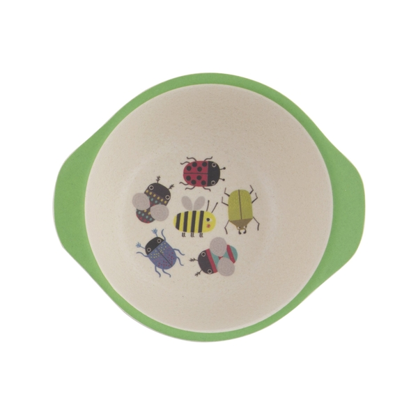 Sass & Belle Busy Bugs Bamboo Kid's Bowl