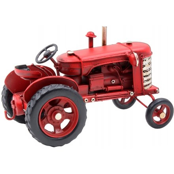 Red Vintage Tractor Ornament