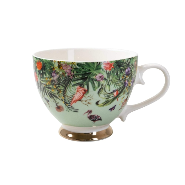 Chinoiserie Footed Mug Ether