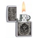 Zippo Sons of Anarchy Fear the Reaper  Satin Chrome Windproof Lighter - Image 2