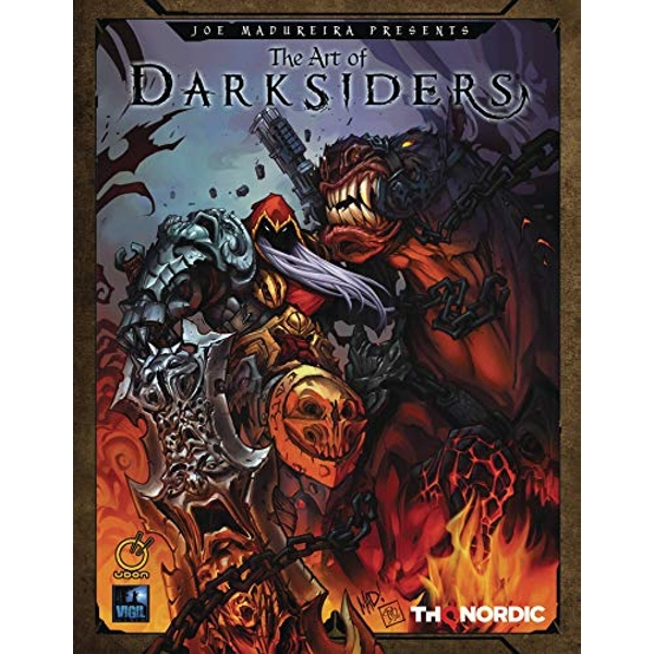 The Art of Darksiders By THQ (Hardback, 2019)