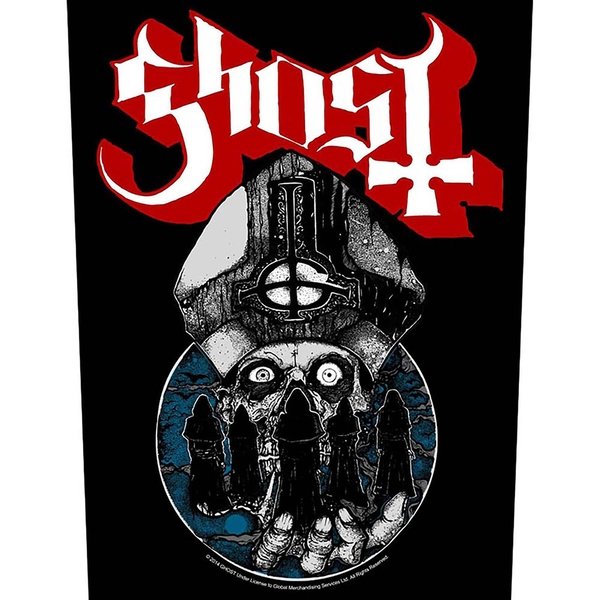 Ghost - Papa Warriors Back Patch