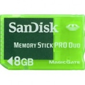 SanDisk 8GB Memory Stick Pro Duo Gaming PSP