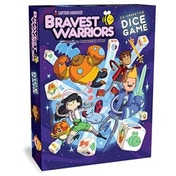 Bravest Warriors Co-operative Dice Board Game