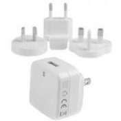 StarTech USB Wall Charger with Quick Charge 2.0 International Travel White