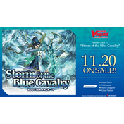 Cardfight Vanguard TCG: Storm of the Blue Cavalry Booster Box  (16 Packs)
