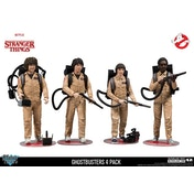 Ghostbusters Deluxe 4-Pack (Stranger Things) Action Figure