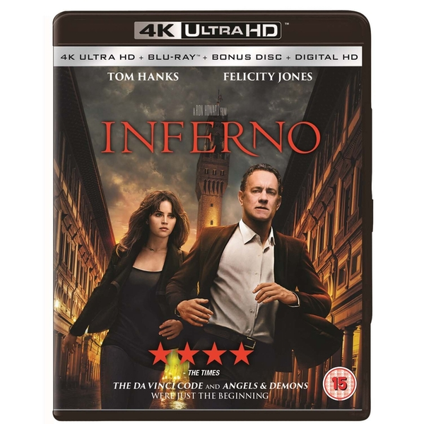 Inferno 4K UHD + Blu-ray