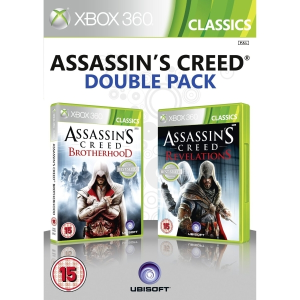 Assassin's Creed Brotherhood & Revelations Double Pack Xbox 360 Game