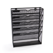 Metal Mesh Wall Mounted File Organiser | M&W
