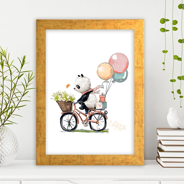 AC1202616181 Multicolor Decorative Framed MDF Painting
