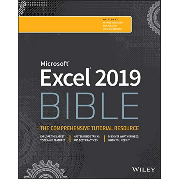 Excel 2019 Bible  Paperback / softback 2018
