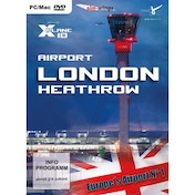 Airport London-Heathrow for X-plane 10 Game PC