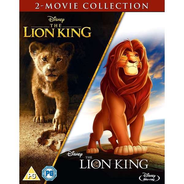 The Lion King - Live Action & Animation Doublepack Collection Blu-ray